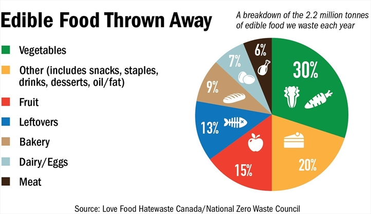 Food Industry In Peel Contribute To The More Than 1 Million Tonnes Of Food Waste Created By Industry In Ontario Annually Mississauga Com Windowswear